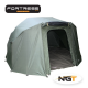 NGT bivvy fortress 2 personas + covertor